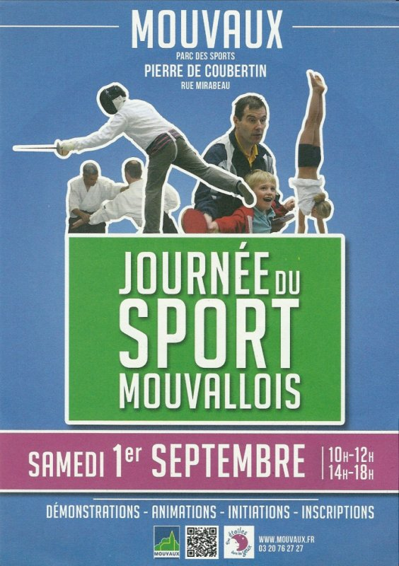 1er septembre, journée des sport