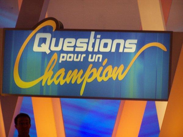 Exclu : Questions pour un champion ... Version belge !
