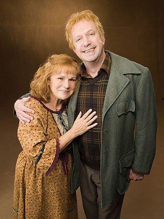 Famille WEASLEY Parents Arthur Weasley et Molly Weasley