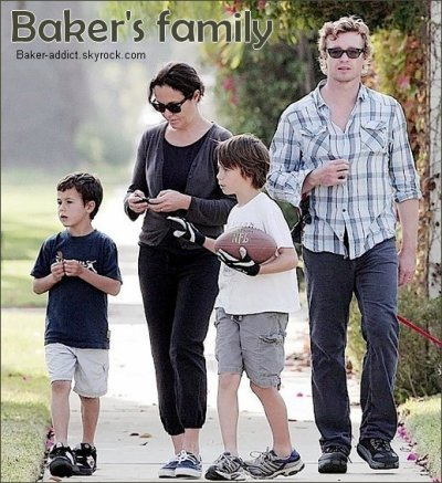 Simon Baker's Family
