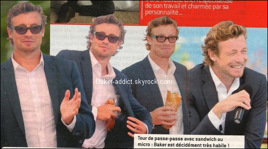Interview de Simon Baker dans le Télé Envie de Septembre 2010.