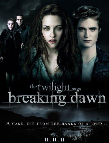 je suis impatiente de voir breaking dawn