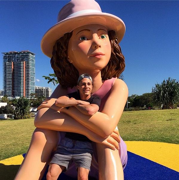 Le voyage de Colton en Australie avec son frère Clinton