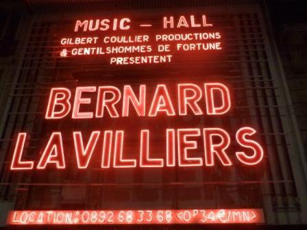 Bernard Lavilliers à l'Olympia le 5 mars 2011, en ouverture Balbino Médellin, compte rendu et photos
