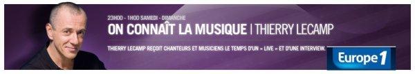 Bernard Lavilliers le 29 octobre 2011 sur Europe 1 On connait la musique