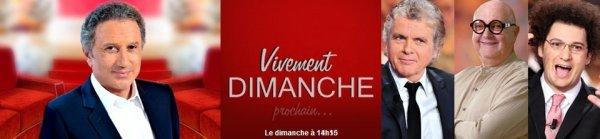 """""""Vivement Dimanche (Prochain)"""" consacrés aux duos de """"Champs Elysées"""" le 01er janvier"""