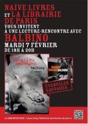 Balbino 7 fevrier 2012