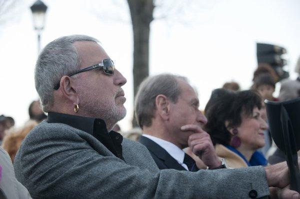 Une place Louis Aragon inaugurée à Paris, Bernard Lavilliers était la