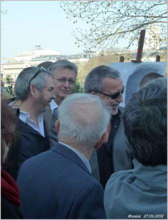 Bernard Lavilliers 27 mars 2012 Place Louis Aragon Paris.  Photos et CR