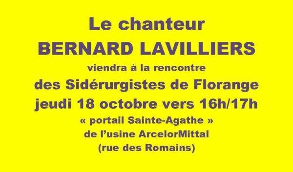 Bernard Lavilliers 18 octobre 2012