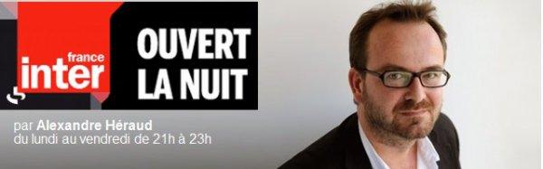 Vendredi 23 novembre 2012 Bernard Lavilliers sur France inter