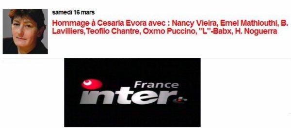Lavilliers sur France inter le 16 mars 2013