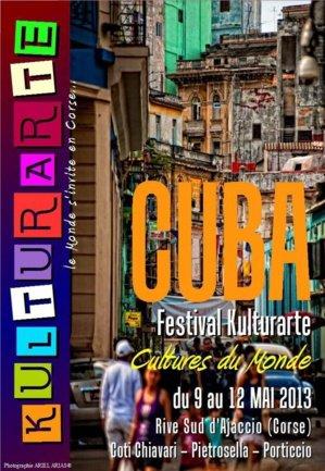 Bernard Lavilliers parrain du Festival  Kulturarte 9 au 12 mai 2013.
