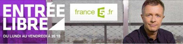 """Bernard Lavilliers sur France 5 le 25 novembre 2013 """"Entrée libre"""""""