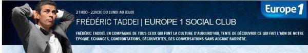 """Lavilliers - Europe 1 - 2 décembre 2013 """" 21h00"""