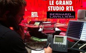 Lavilliers - Grand studio RTL - décembre 2013