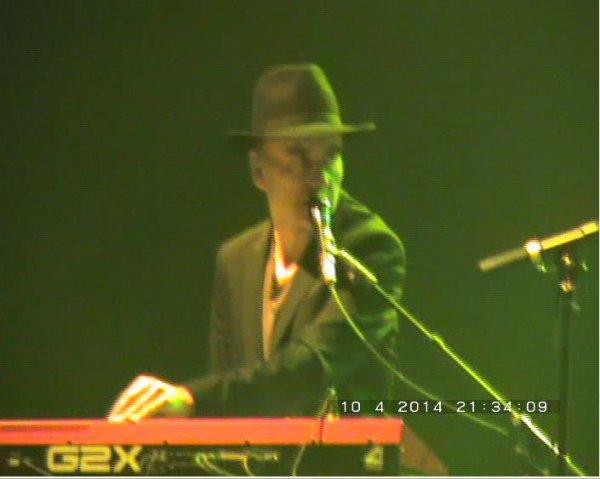 Quelques photos de Bernard Lavilliers et des ses musicos d'exception au Zénith de Pau le 10 avril 2014