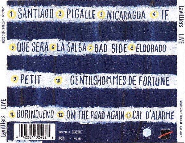 """Vidéo de l'album Live """"On The Road Again"""" sortie en 1990 enregistrée en mars 1989."""