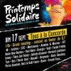 Bernard Lavilliers dimanche 17 septembre 2017 au concert place de la Concorde  « Printemps Solidaire »