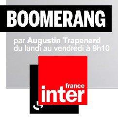 """Bernard Lavilliers sur France inter. """"Boomerang"""" le 27 septembre 2017"""
