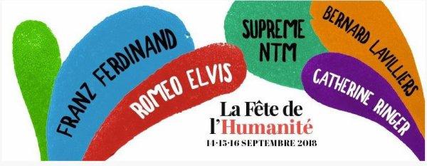 Bernard Lavilliers annoncé à la fête de l'Humanité du 14 au 16 septembre 2018