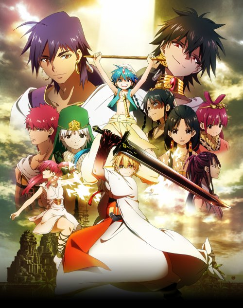 MAGI THE LABYRINTH OF MAGIC