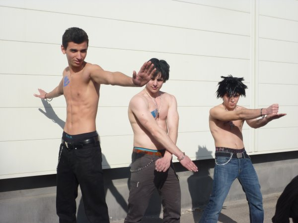 SHOOTING PHOTO FAIRY TAIL(les grey, les jubia, rufus, wendy)