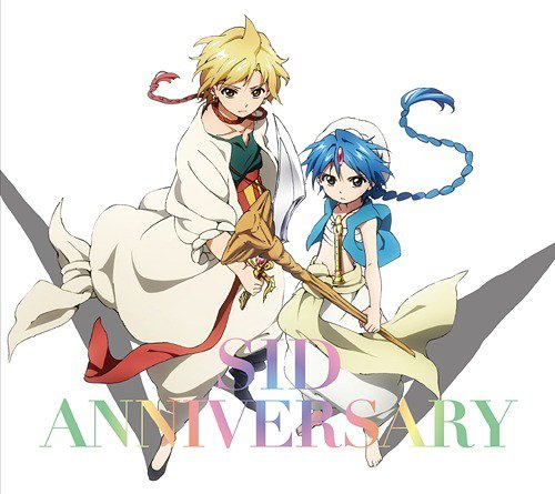 "Magi opening 3-""ANNIVERSARY"" by SID (2013)"