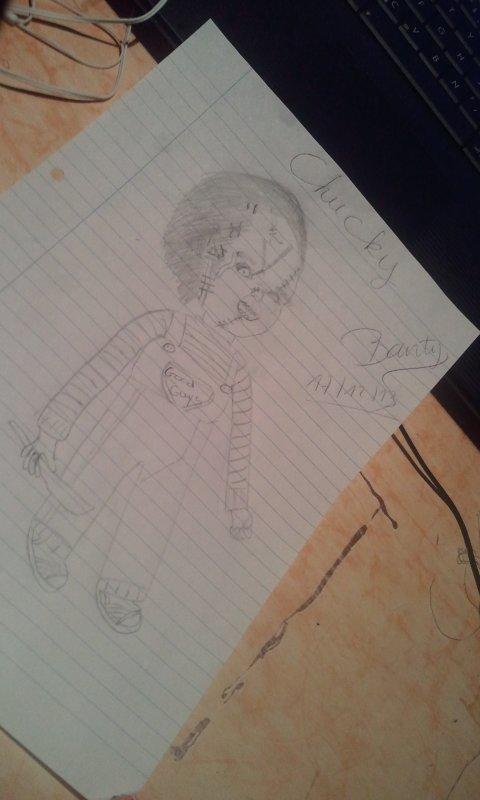 Mon dessin Chucky