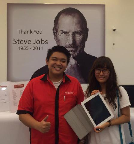 iPad 2 Cannot Touch Repair Malaysia
