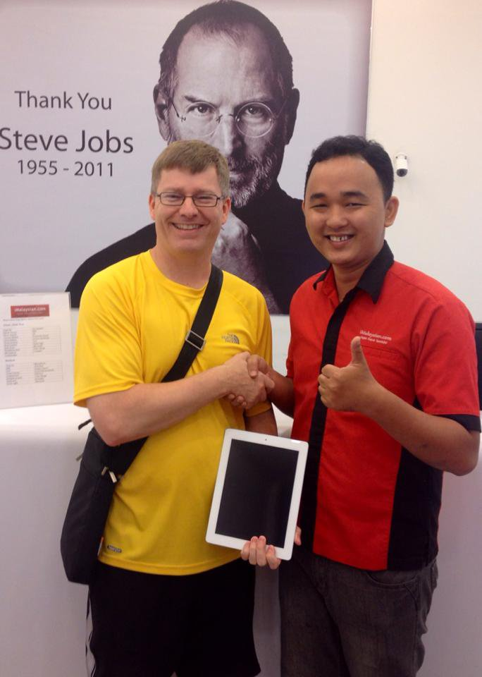 iPad 2 Cannot Charge Repair Malaysia