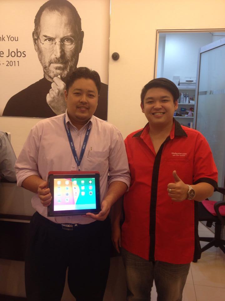 iPad 2 Cannot Take Photo Repair Malaysia