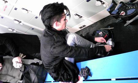 Tokio Hotel est allé à la Patinoire de Tokyo, au Japon, le 11 Février 2011 !!!