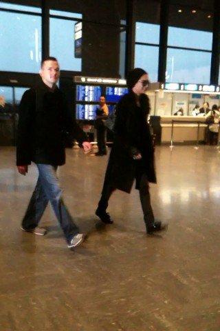 Bill à l'Aéroport de Tokyo, au Japon, le 12 Février 2011 !!!