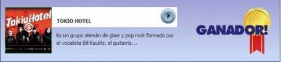 """Tokio Hotel a remporté l'Award de """"Meilleur Konzert de l'Année"""" à la cérémonie Péruvienne des """"Planeta Awards 2010"""" !!!"""