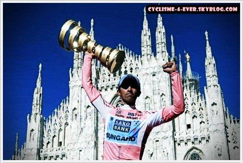 Cyclisme-4-ever.Skaii ™ | Résultats | Contador remporte le Giro |