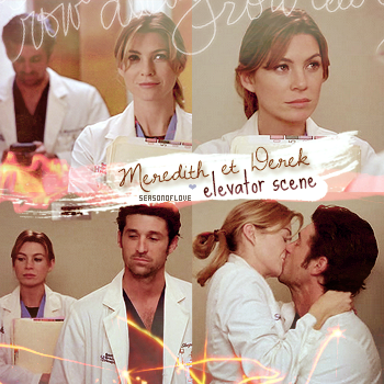 ♠ Article 22 - Grey's anatomy, Meredith et Derek, 1x02. [creation - deco - gallerie]