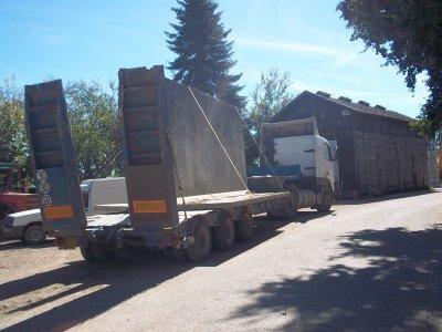contruction du nouveau silo a taupe