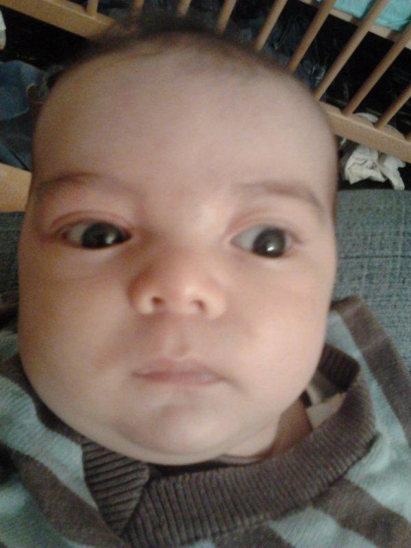 Gabriel a 2 mois