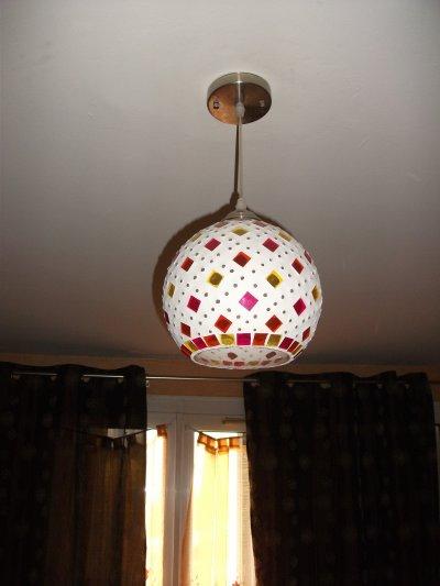 Applique au plafond