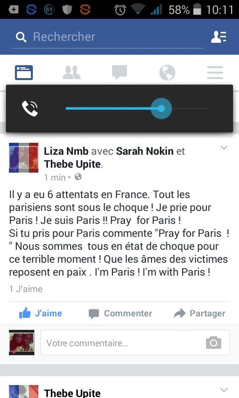 Soutenons Paris -> Pray for Paris