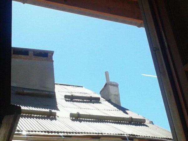 Quelle beau temps a Briançon!