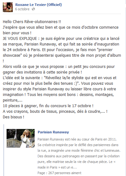 Roxane Le Texier showcase