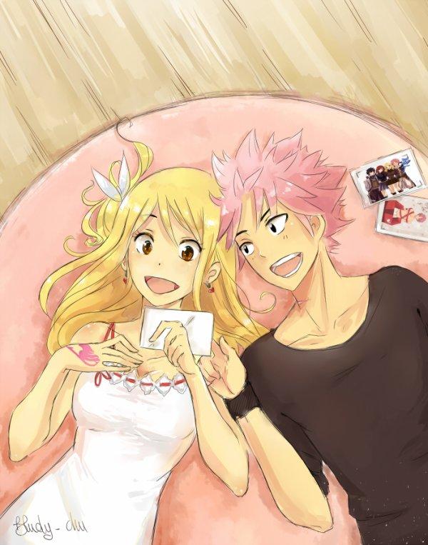 Os Natsu x Lucy
