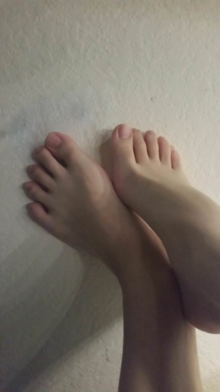 Mes petits pieds ❤