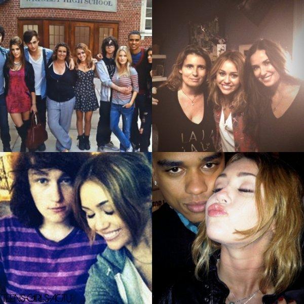 Nouvelles photo perso' de Miley sur Twitter