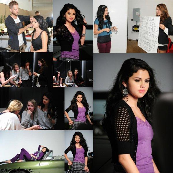 Phoshoot de Selena pour DOL