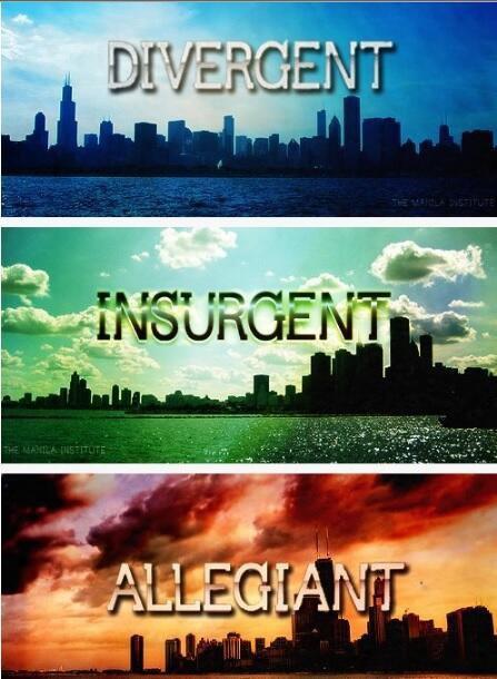 Trilogie: Divergente