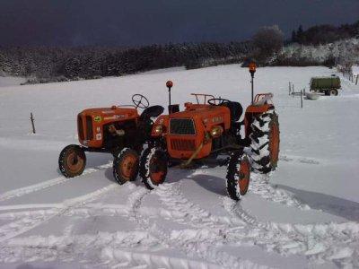 Someca sous la neige