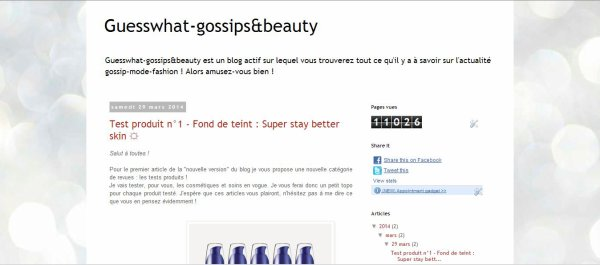Blog , Guess what gossips&beauty